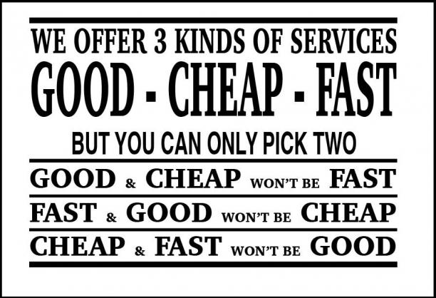 Three Kinds of Services