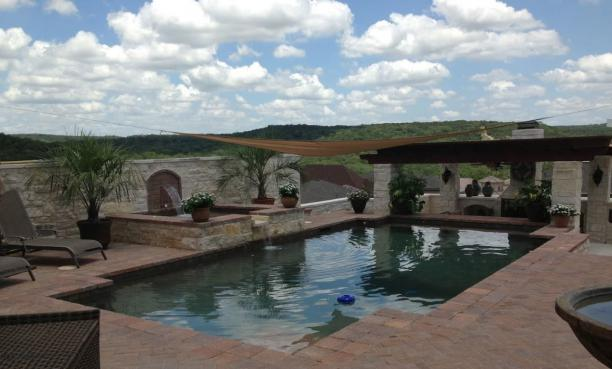 Pool in the Texas Hill Country