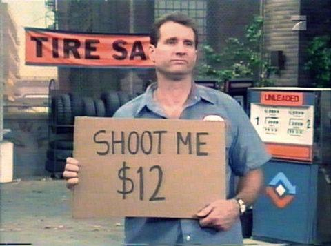 Al Bundy - Shoot Me $12