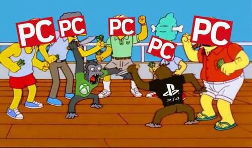 PC watches as Xbox One & PS4 Battle